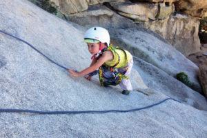 bambini e arrampicata