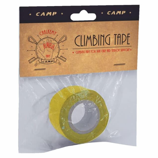 camp climbing tape giallo