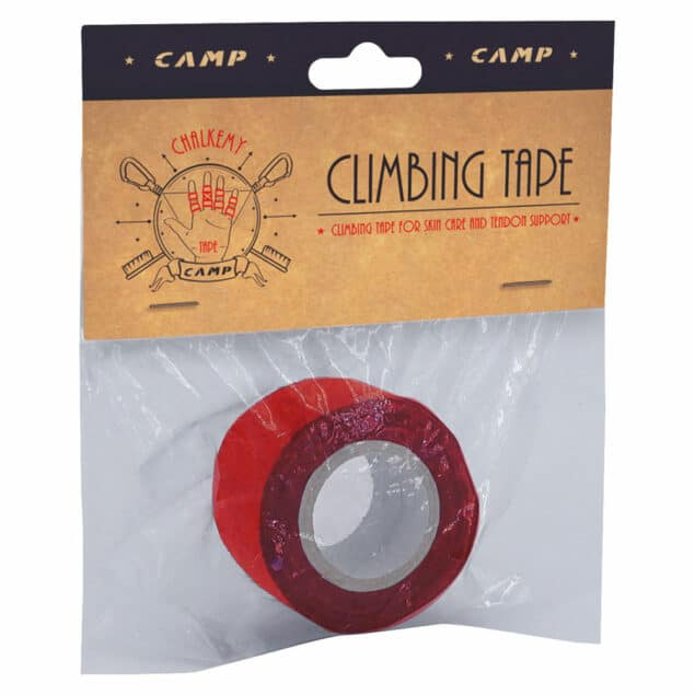 camp climbing tape rosso