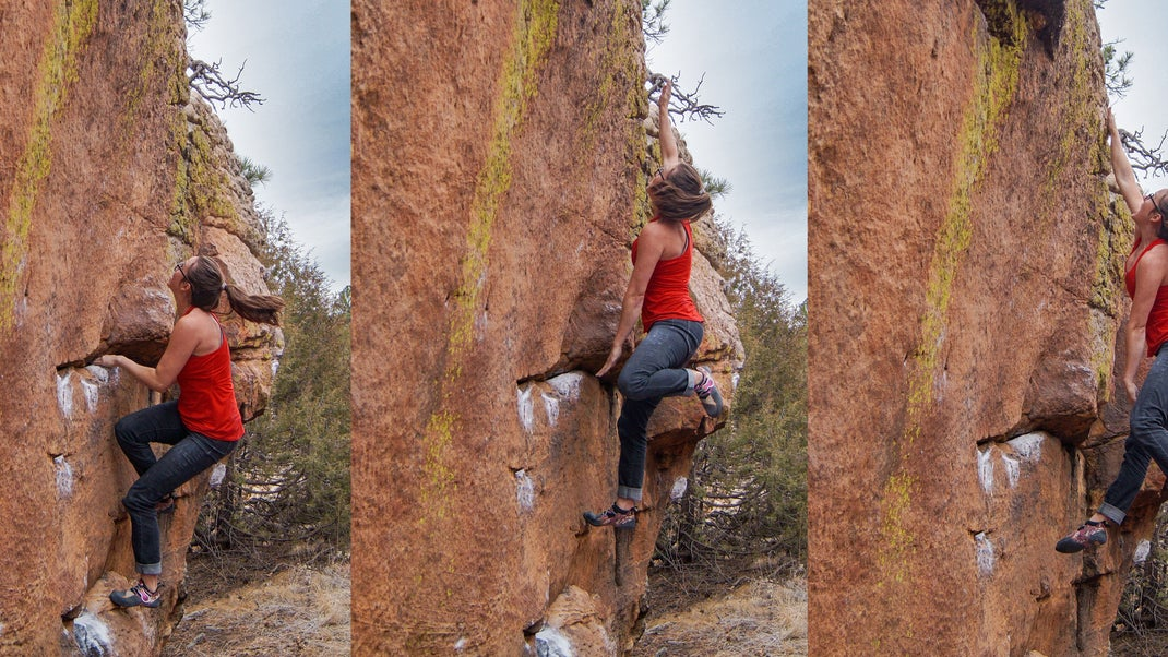lancio arrampicata
