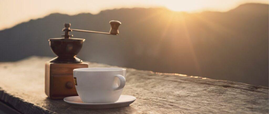caffè in montagna